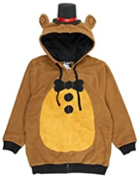 bioworld Five Nights at Freddy's Big Boys Freddy Fazbear Costume Hoodie