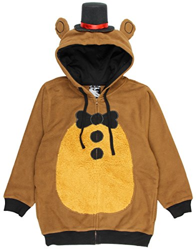 Five Nights at Freddy's Big Boys Freddy Fazbear Costume Hoodie (Bonnie Halloween Costume)