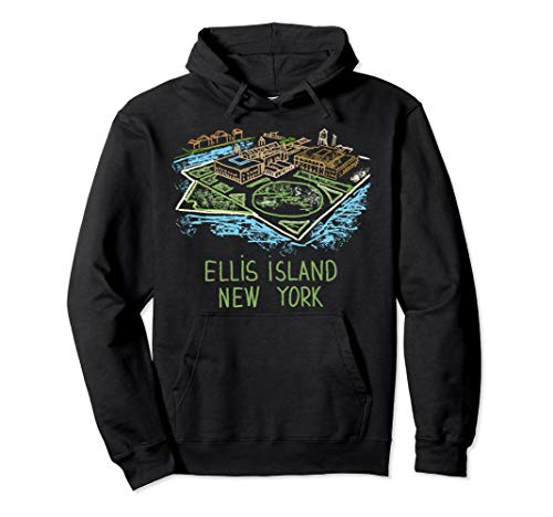 Ellis Island New York Pullover Hoodie (The Ellis Island Of Black America Was In)