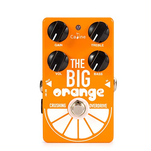 Sound Electronic Effects (Caline Electric Crushing Overdrive Multi Distortion Guitar Effect Pedals 9V DC The Big Orange Engineering Pedals Acoustic Guitar Bass Reverb True Bypass CP-54)