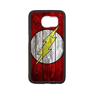 DIY Printed The Flash hard plastic case skin cover For Samsung Galaxy S6 SNQ160841