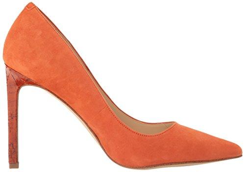 Pump Orange Tatiana Suede Dress Dark Women's West Nine Natural q0gRFF