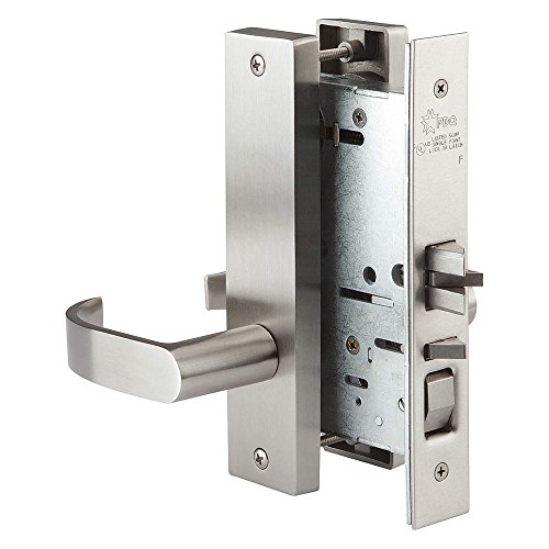 Mortise Lockset, Privacy, SS Steel, EHD by PDQ
