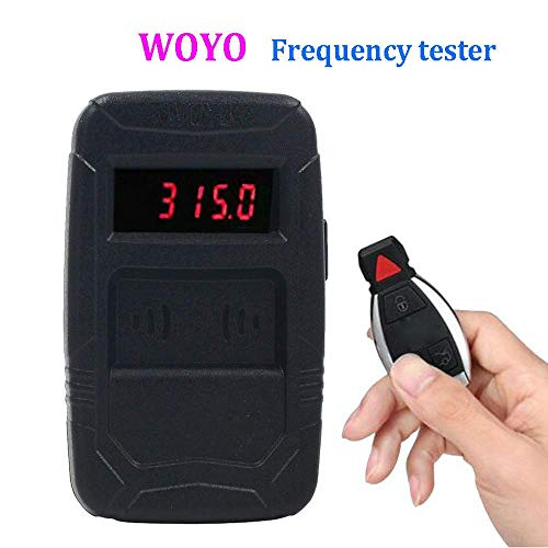 HERCHR Automotive Infrared Frequency Tester, WOYO Portable Remote Control Test Tool, Black by HERCHR (Image #9)