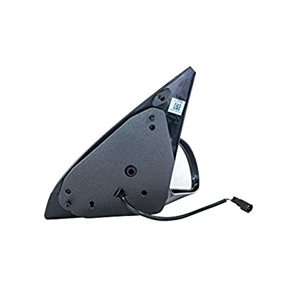 Dependable Direct Right Passenger Side Textured Power-Operated Non-Heated Non-Folding Door Mirror for USA Built Ford Focus (2000 2001 2002 2003 2004 2005 2006 2007) - FO1321180: Automotive