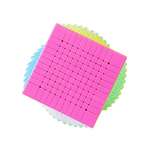 acdiac 7x7x7 to 11x11x11 Pro Speed cube stickerless Magic Cube toy Puzzles toy (11X11X11, Colorful) by acdiac (Image #3)