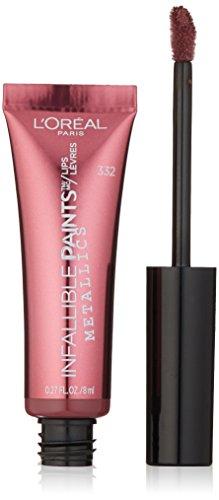 L'Oréal Paris Infallible PAINTS/LIPS Metallic, Galactic Foil, 0.27 fl. oz.