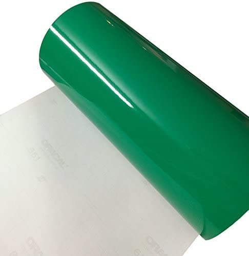 Amazon Com 12 X 10 Ft Roll Of Glossy Oracal 651 Green Adhesive Backed Vinyl For Craft Cutters Punches And Vinyl Sign Cutters By Vinylxsticker