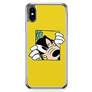 Loud Universe Goofy Yellow Design iPhone XS Case Goofy Dog iPhone XS Cover with Transparent Edges