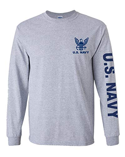 Officially Licensed United States Navy Long Sleeve T-Shirt