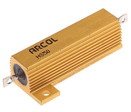 50W Ohmite/Arcol Aluminum 5% Mil-Spec Wirewound Resistor, 33 Ohm