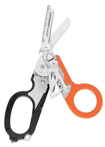 LEATHERMAN - Raptor Shears, Black-Orange with MOLLE Compatible Holster by LEATHERMAN (Image #1)