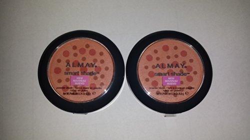 Almay Smart Shade Powder Blush, Coral [30] 0.24 oz (Pack of (Blush Shade)
