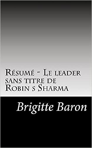 hot sale new images of coupon code Amazon.com: Résumé - Le leader sans titre de Robin s Sharma ...