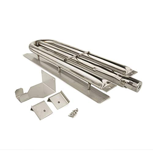 (Music City Metals 15481 Stainless Steel Burner Replacement for Select Viking Gas Grill Models)