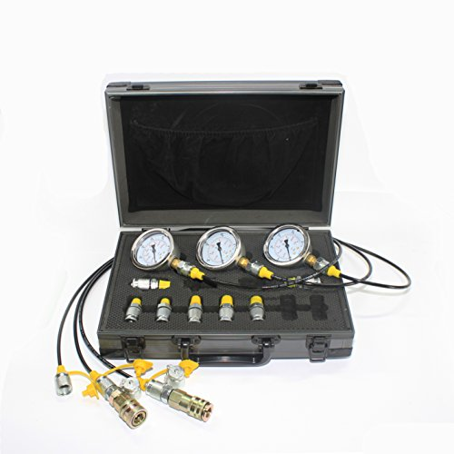 XZT 60m Hydraulic Pressure Test Coupling Kit for Caterpillar Komatsu Excavator Construction Machinery