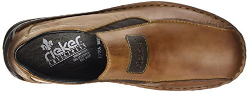 Rieker Mens M.slipper Marrone Extra Largo Marrone Extra Largo