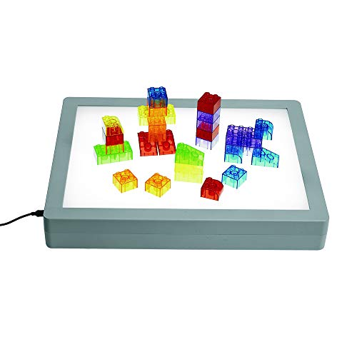 Excellerations LED Light Box, STEM Toy, Color & Light Discovery,