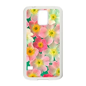 Petals Customized Cover Case for SamSung Galaxy S5 I9600,custom phone case ygtg517000