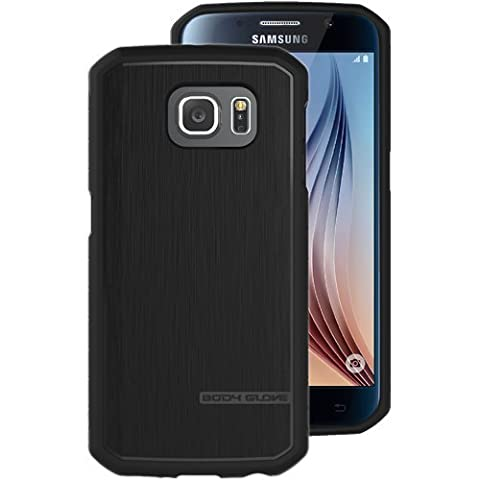 BODY GLOVE Samsung Galaxy S6 Suit Up Satin Case - Black (Body Glove Suit Up Phone Cases)