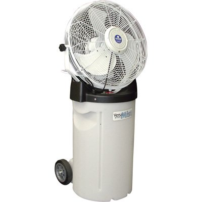 Schaefer VersaMist Misting Fan with Cart - 18in., 2600 CFM, Model# PVM18C