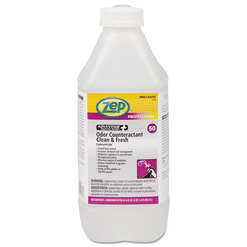 Concentrated Odor Counteractant, Clean & Fresh, 2L Bottle