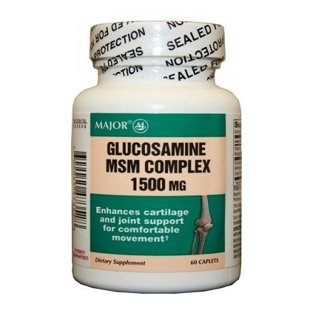 Glucosamine MSN Complex 1500 mg, 60 Capsules (3 bouteilles)