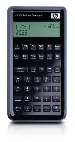 HP 20b Business Consultant Financial Calculator (F2219AA) by HP