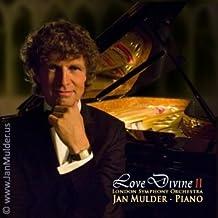 Love Divine 2: inspirador CD sagrado del pianista Mulder & London Symphony Orchestra (De paz inundada mi senda, El Padrenuestro, Espíritu de amor)
