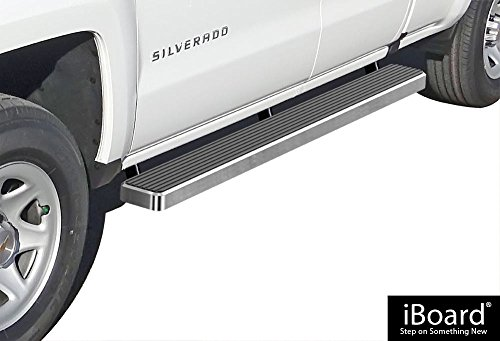 iboard running boards silverado - 9