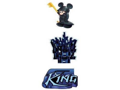 Disney Mickey Kingdom Hearts Resin Paperweight
