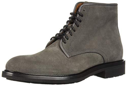 Aquatalia Men's Renzo Suede Chukka Boot, Dark Charcoal, 8 M US