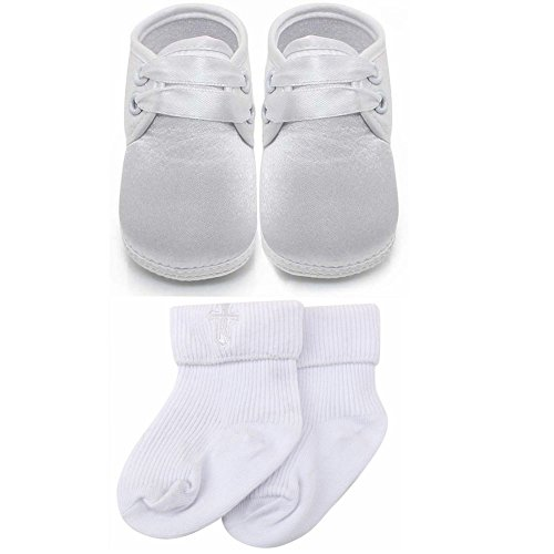 delebao-baby-infant-lace-up-satin-christening-baptism-shoes-bootie-slippers-sneakers-9-12-months-sho