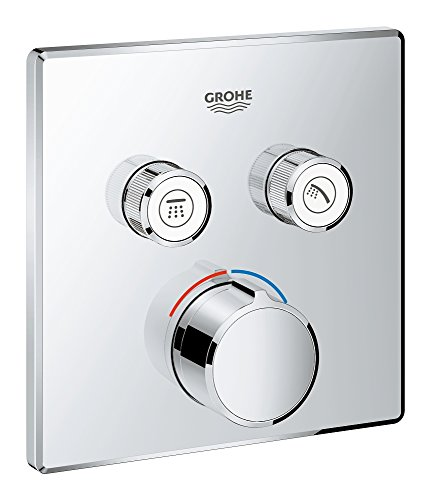 GROHE 29148000 | SmartControl Concealed Mixer | Square | 2 Valves ()
