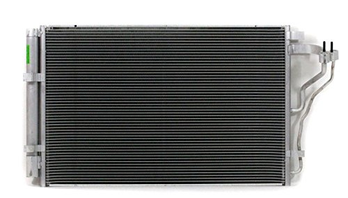 A C Condenser   Pacific Best Inc For Fit 14 14 Kia Forte Koup Sedan 5 2 0L 5Mm With Receiver   Dryer