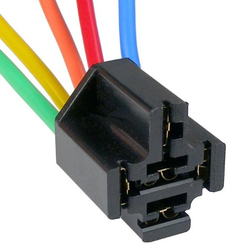 Flasher Wiring Relay (Pico 5653PT GM and Universal Heavy Duty Flasher/Mini Relay Five Lead Wiring Pigtail)