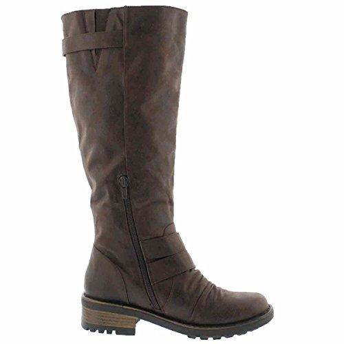 III Women's SoftMoc Boot Riding Brown Dk Blixi Ezwwa0q