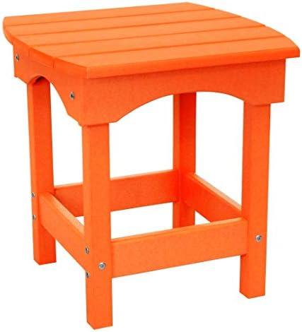 Harbor Side Table Bright Orange
