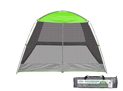 Caravan Sports 81018013320 Caravan Sports Screen House Shelter, 10 x 10-Feet, Lime Green Canopy