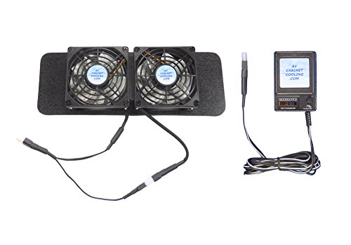 (Dish DVR Cooling Fans for VIP 722/622/922/612, with thermoswitch & Multi-Speed Control)