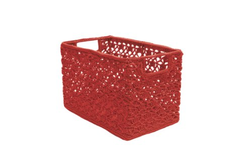 Heritage Lace Mode Crochet Wire Frame Basket, 12 by 7 by ...
