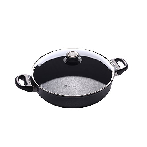 Swiss Diamond HD Nonstick Induction Sauteuse with Lid, 11 inch