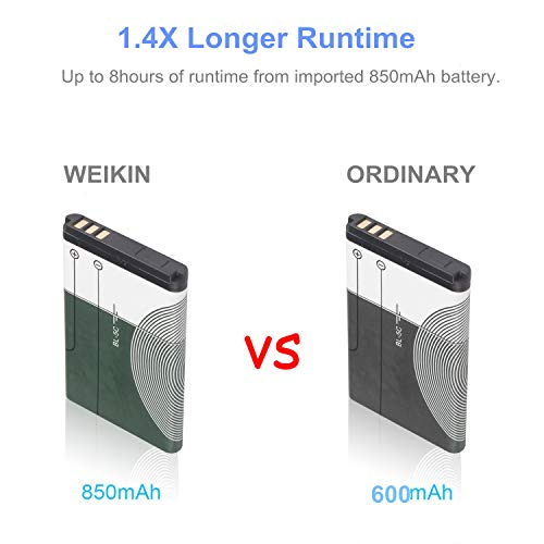 weikin Handheld Game Console, 168 Classic Games 3 Inch LCD Screen Portable Retro Video Game Console Support for Connecting TV and Two Players, Good Gifts for Kids and Adult. by WEIKIN (Image #2)