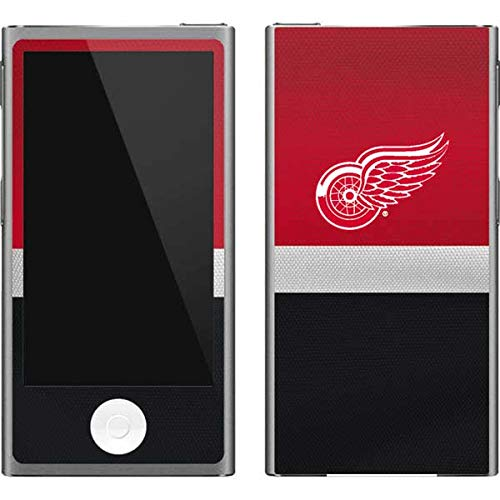 Skinit NHL Detroit Red Wings iPod Nano (7th Gen&2012) Skin - Detroit Red Wings Jersey Design - Ultra Thin, Lightweight Vinyl Decal Protection Detroit Red Wings Ipod Skin