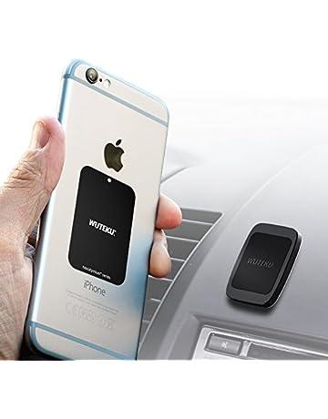 5fc2a34539bc Support magnétique de téléphone pour voiture avec 6 aimants pour tenir des  téléphones comme iPhone XR