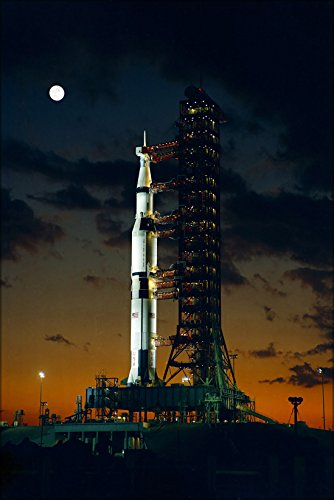 (20x30 Poster; Apollo 4 Saturn V Rocket Kennedy Space Center 1967)