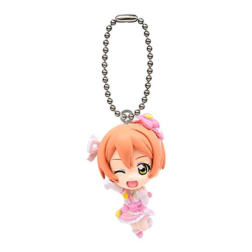 (Love Live! School Idol Project Mini Mascot Keychain / Swinger Part 10 Gashapon - Hoshizora Rin)