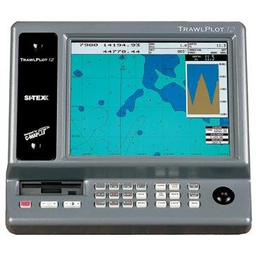 The Amazing Quality SI-TEX TRAWLPLOT 12 SD Color Chartplotter w/WAAS Receiver