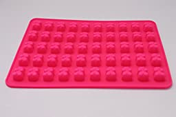 3 PACK– 159 COUNT - SILICONE GUMMY BEAR MOLDS WITH BONUS EASY APPLICATOR