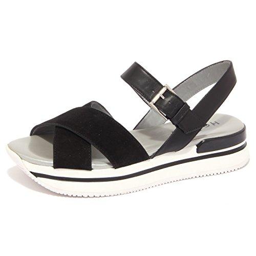 Nero 1429Q Scarpa Sandalo Nero Woman Hogan Donna Sandal 1g0pqSwS
